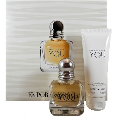 ARMANI Because It's You SET: EDP 50ml + body lotion 75ml