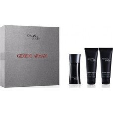 ARMANI Code for Men Set EDT 75ml + aftershave balm 75ml + shower gel 75ml