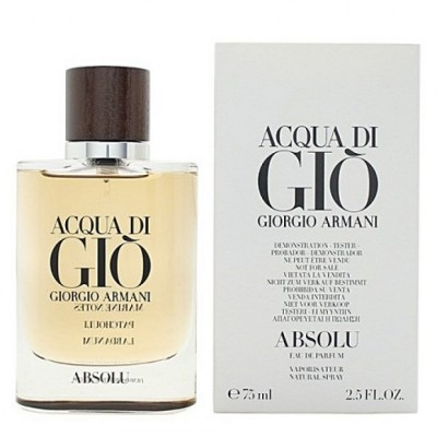 ARMANI Acqua Di Gio Absolu EDP 75ml TESTER
