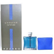 AZZARO Chrome Intense SET: EDT 100ml + Credit Card holder