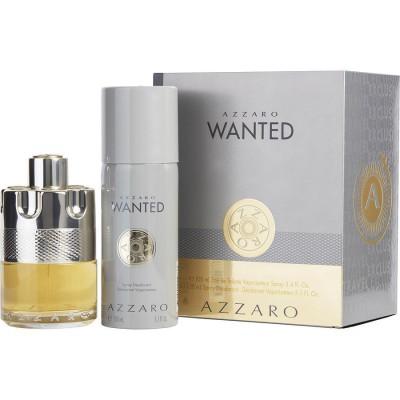 AZZARO Wanted SET: EDT 100ml + deo spray 150ml
