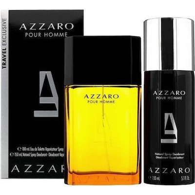 AZZARO Pour Homme SET: EDT 100ml + deodorant spray 150ml