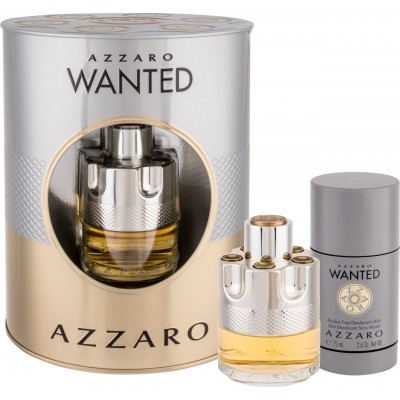 AZZARO Wanted Set: EdT 50ml + deo stick alcohol free 75ml