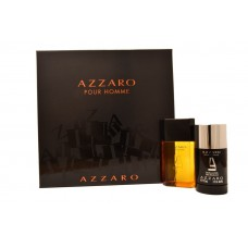 AZZARO Pour Homme SET: EDT 50ml + deo stick 75ml