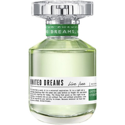 BENETTON United Dreams Live Free EDT 80ml TESTER