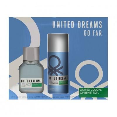 BENETTON United Dreams Go Far SET: EDT 100ml + deodorant spray 150ml
