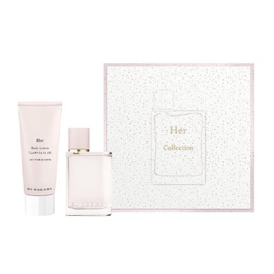 BURBERRY Burberry Her SET: EDP 50ml + body lotion 75ml