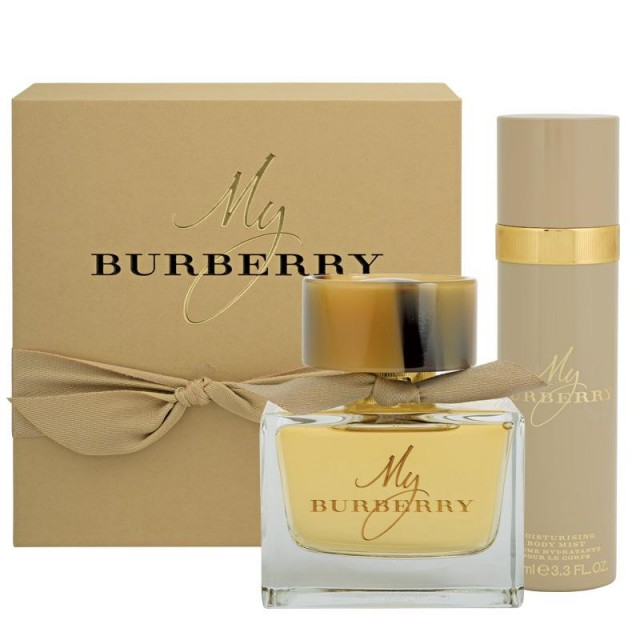 BURBERRY My Burberry SET: EDP 50ml + body mist 100ml