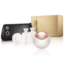 BVLGARI Aqva Divina SET: EDT 65ml + body lotion 40ml + shower gel 40ml + soap 50g + pouch