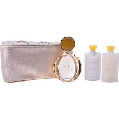 BVLGARI Goldea SET: EDP 90 ml + body lotion 75ml + shower gel 75ml + pouch