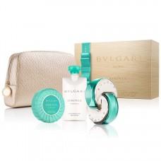 BVLGARI Omnia Paraiba Gift SET EDT 65ml & body lotion 75ml & soap 75g & cosmetic bag