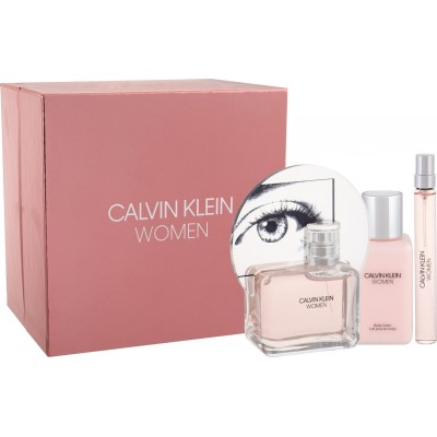 CALVIN KLEIN Women SET: EDP 100ml + body lotion 100ml + EDP 10ml