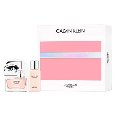 CALVIN KLEIN Women SET: EDP 50ml + body lotion 100ml