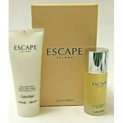 CALVIN KLEIN Escape For Men SET: EDT 100ml + aftershave balm 200ml
