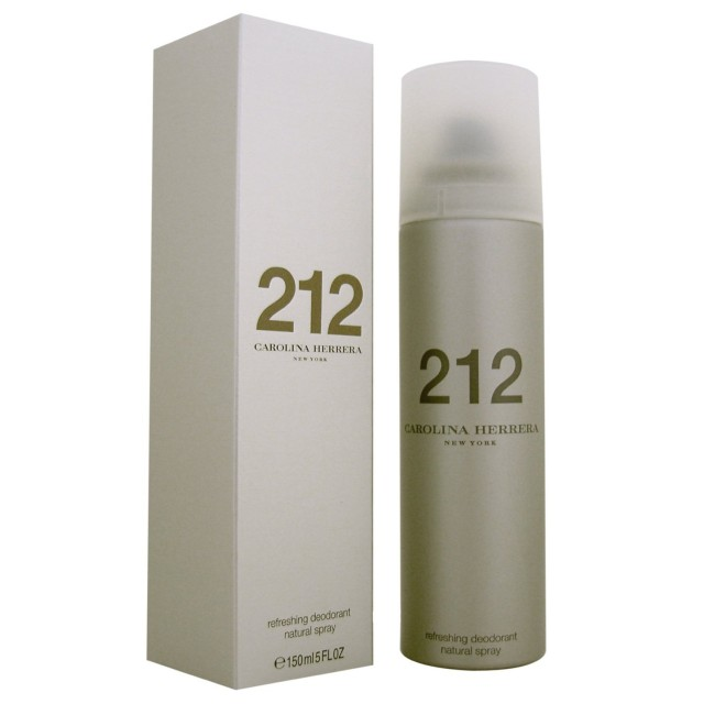 CAROLINA HERRERA 212 For Women deodorant spray 150ml