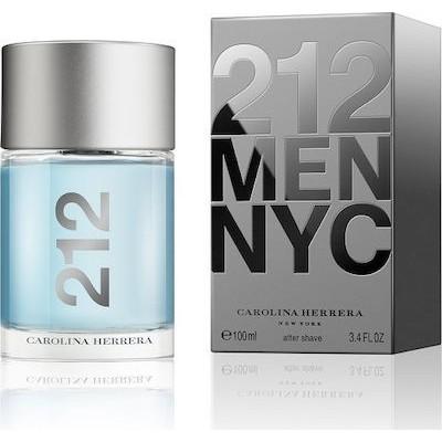 CAROLINA HERRERA 212 Men aftershave lotion 100ml