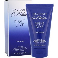DAVIDOFF Cool Water Night Dive for Woman shower gel 150ml