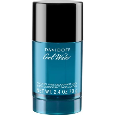 DAVIDOFF Cool Water For Men deo stick alcohol free 75ml