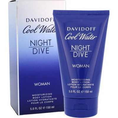 DAVIDOFF Cool Water Night Dive for Woman body lotion 150ml