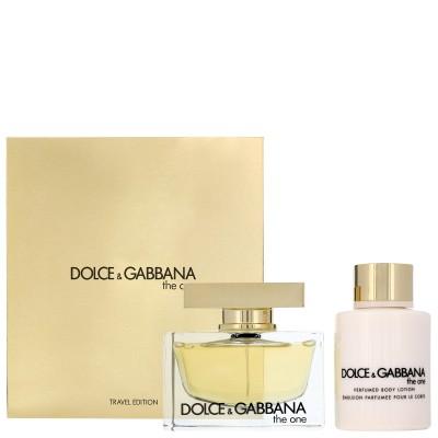 DOLCE & GABBANA The One Pour Femme SET: EDP 75ml + body lotion 100ml