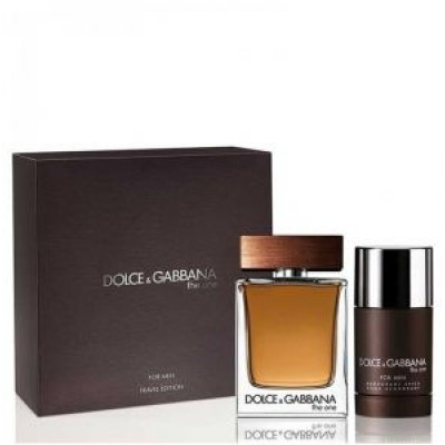 DOLCE & GABBANA The One Pour Homme SET: EDT 100ml + deo stick 75ml