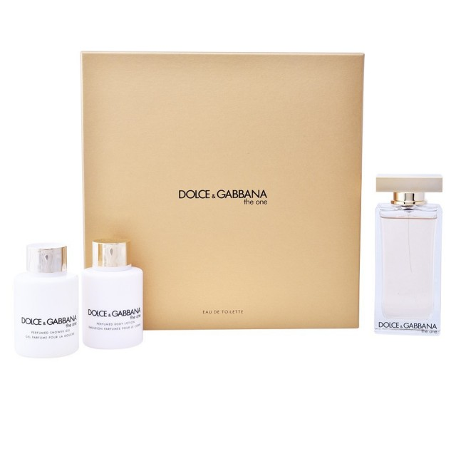 DOLCE & GABBANA The One Pour Femme SET: EDT 100ml + body lotion 100ml + shower gel 100ml