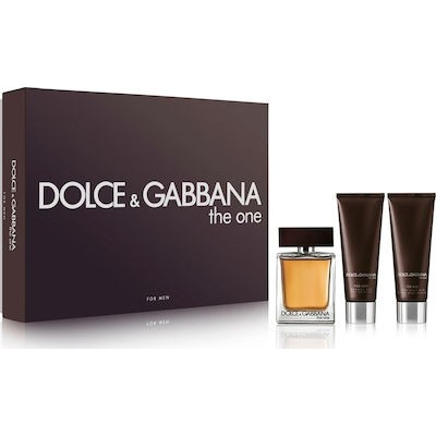 DOLCE & GABBANA The One Pour Homme SET: EDT 100ml + aftershave balm 75ml + shower gel 50ml