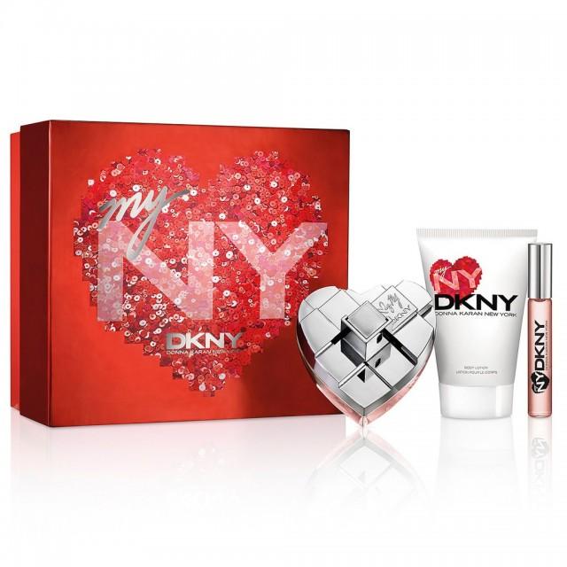DONNA KARAN DKNY My NY SET: EDP 100ml + body lotion 100ml + roller ball 10ml