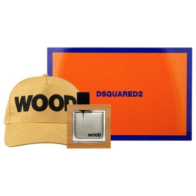 DSQUARED2 He Wood SET: EDT 50ml + cap