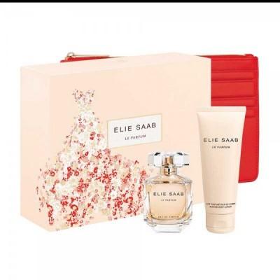Elie Saab Le Parfum SET: EDP 50ml + body lotion 75ml + pouch