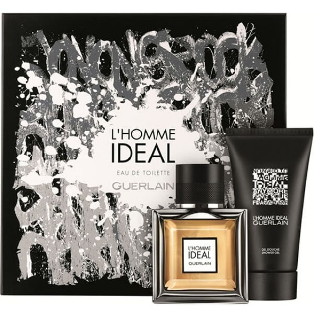 GUERLAIN L'Homme Ideal SET: EDT 50ml + shower gel 75ml