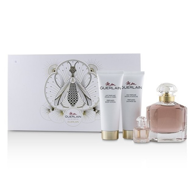 GUERLAIN Mon Guerlain SET: EDP 100ml + body lotion 75ml + shower gel 75ml + EDP 5ml