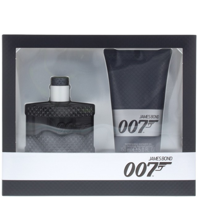 JAMES BOND 007 SET: EDT 50ml + shower gel 150ml