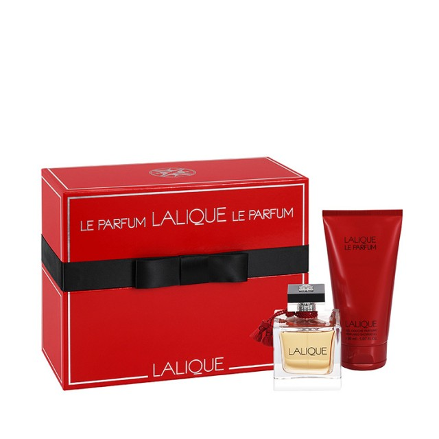 LALIQUE Le Parfum SET:EDP 100ml + shower gel 150ml