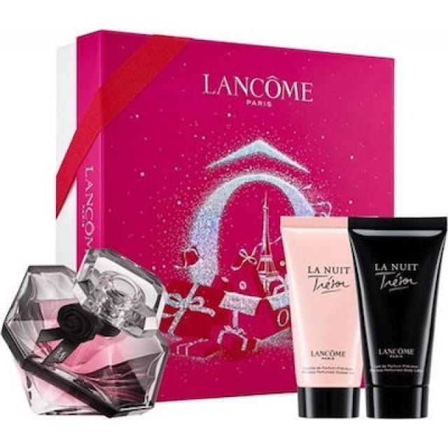 LANCOME La Nuit Tresor SET: EDP 50ml + body lotion 50ml + shower gel 50ml