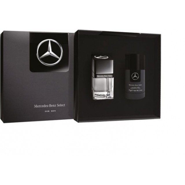MERCEDES BENZ Select SET: EDT 50ml + deo stick 75ml