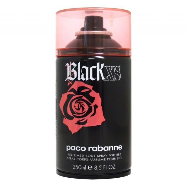 PACO RABANNE Black XS body spray for woman 250ml