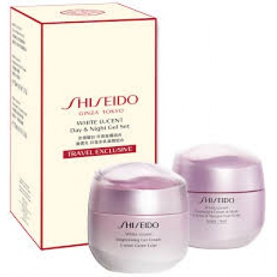 SHISEIDO White Lucent SET: Gel Cream 50ml + Overnight Cream & Mask 75ml