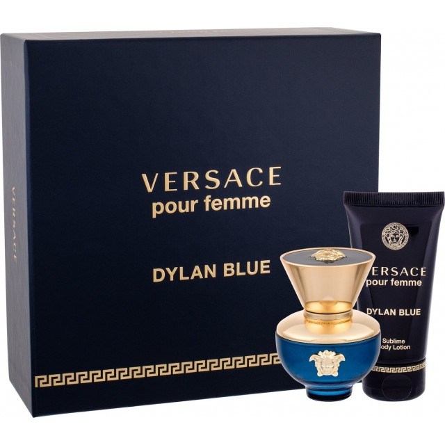 VERSACE Dylan Blue SET: EDP 30ml + body lotion 50ml