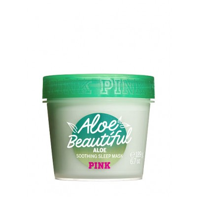 VICTORIA'S SECRET Aloe Beautiful Soothing Sleep Face and Body Mask 189g
