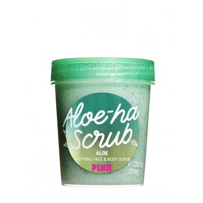 VICTORIA'S SECRET Aloe Ha Scrub Soothing Face and Body Scrub 283g