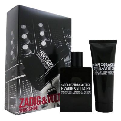 ZADIG & VOLTAIRE This Is Him! SET: EDT 50ml + shower gel 75ml
